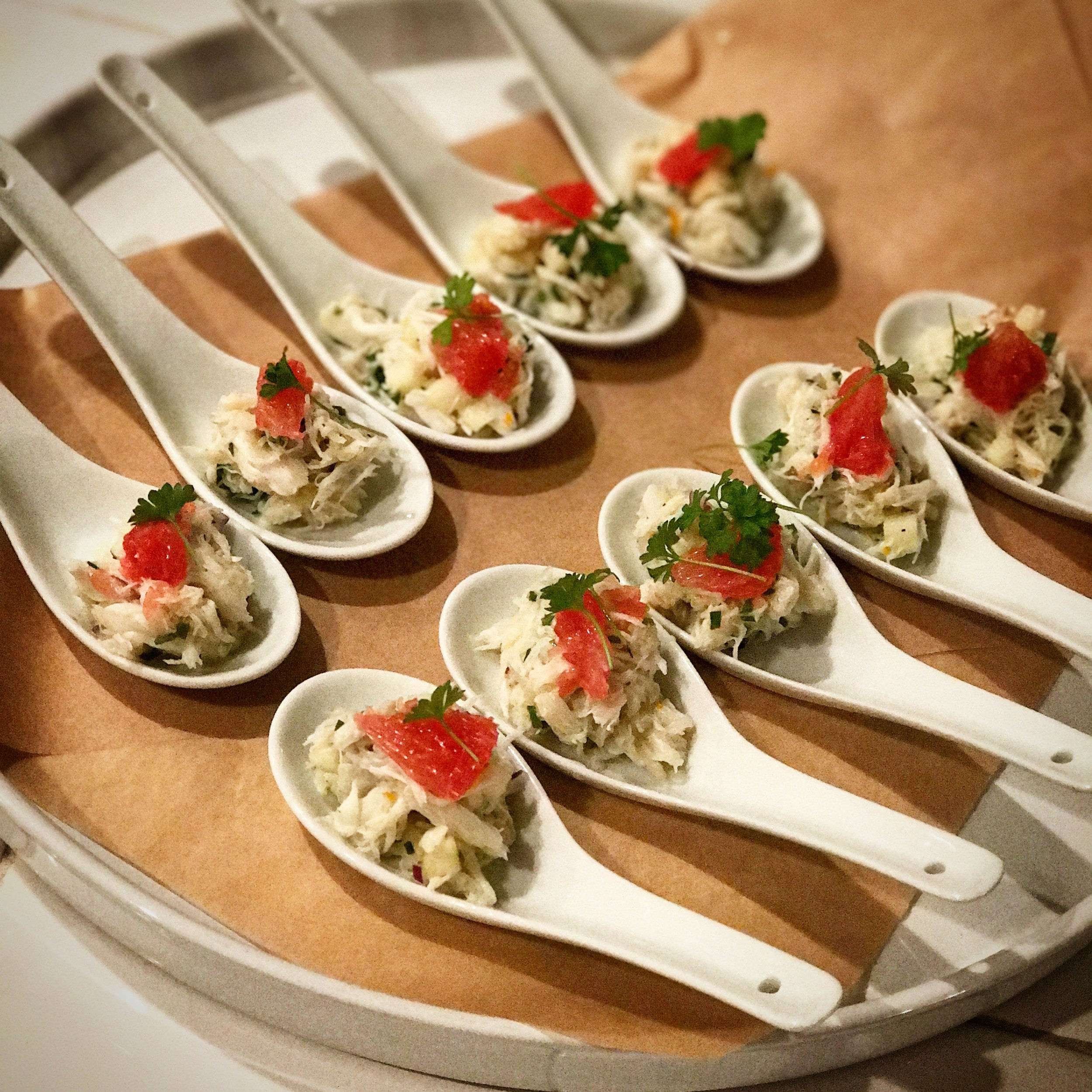 Citrus Crab Salad