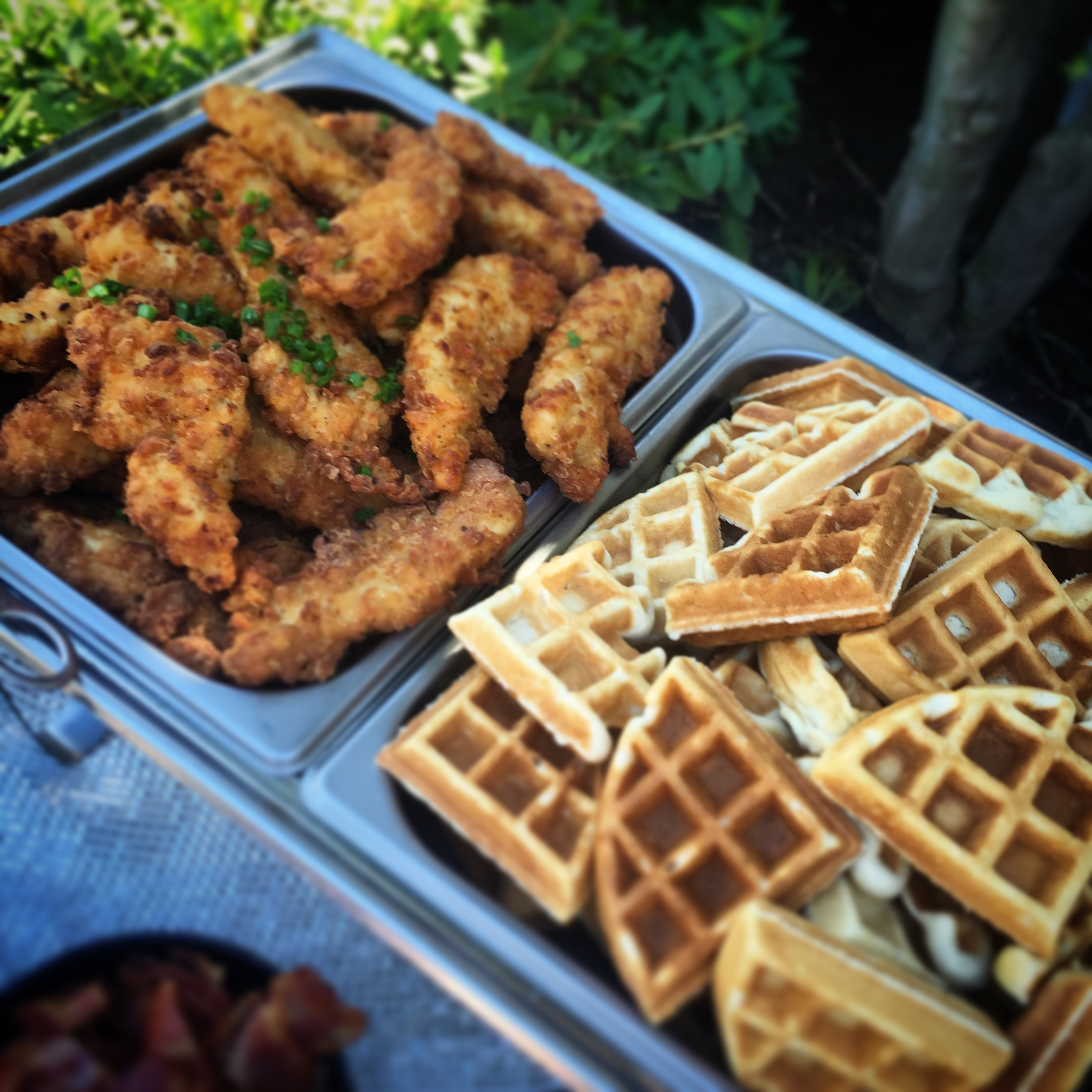 Chicken + Waffles