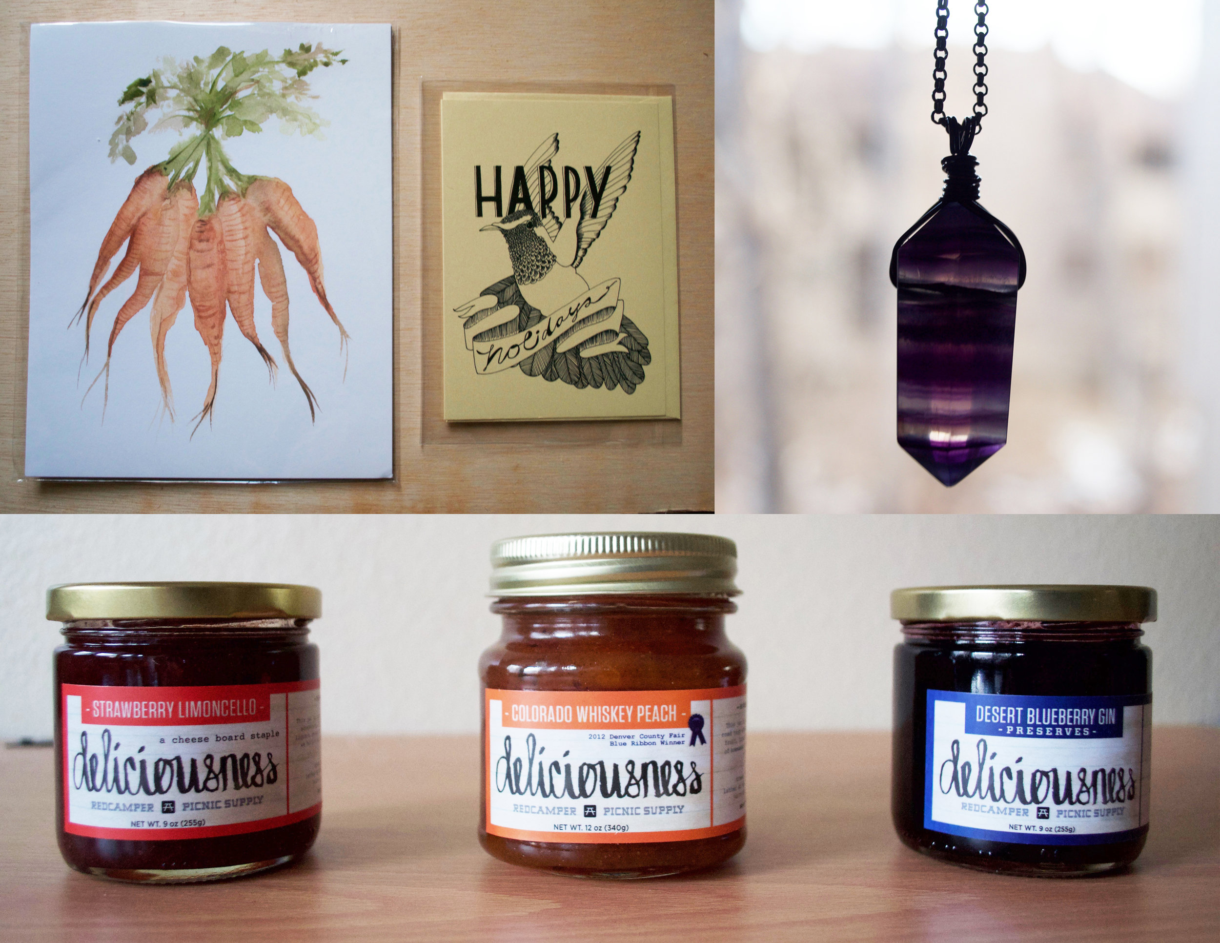 our collection of vendor products from the fair!