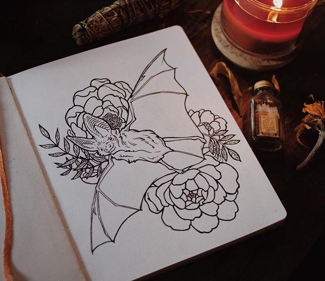 kinda ready for october. ...and #inktober 🎃 : : : #inktober #ink #inkdrawing #october #drawing #drawingoftheday #illustration #bat #penandink #pendrawing #artwork #art #artistsoninstagram #dailyart #sketch #sketchbook #sketching #artoftheday #illustrator #denver #colorado #denverart #denverartist #coloradoart #coloradoartist #pen #inkart #fall #autumn