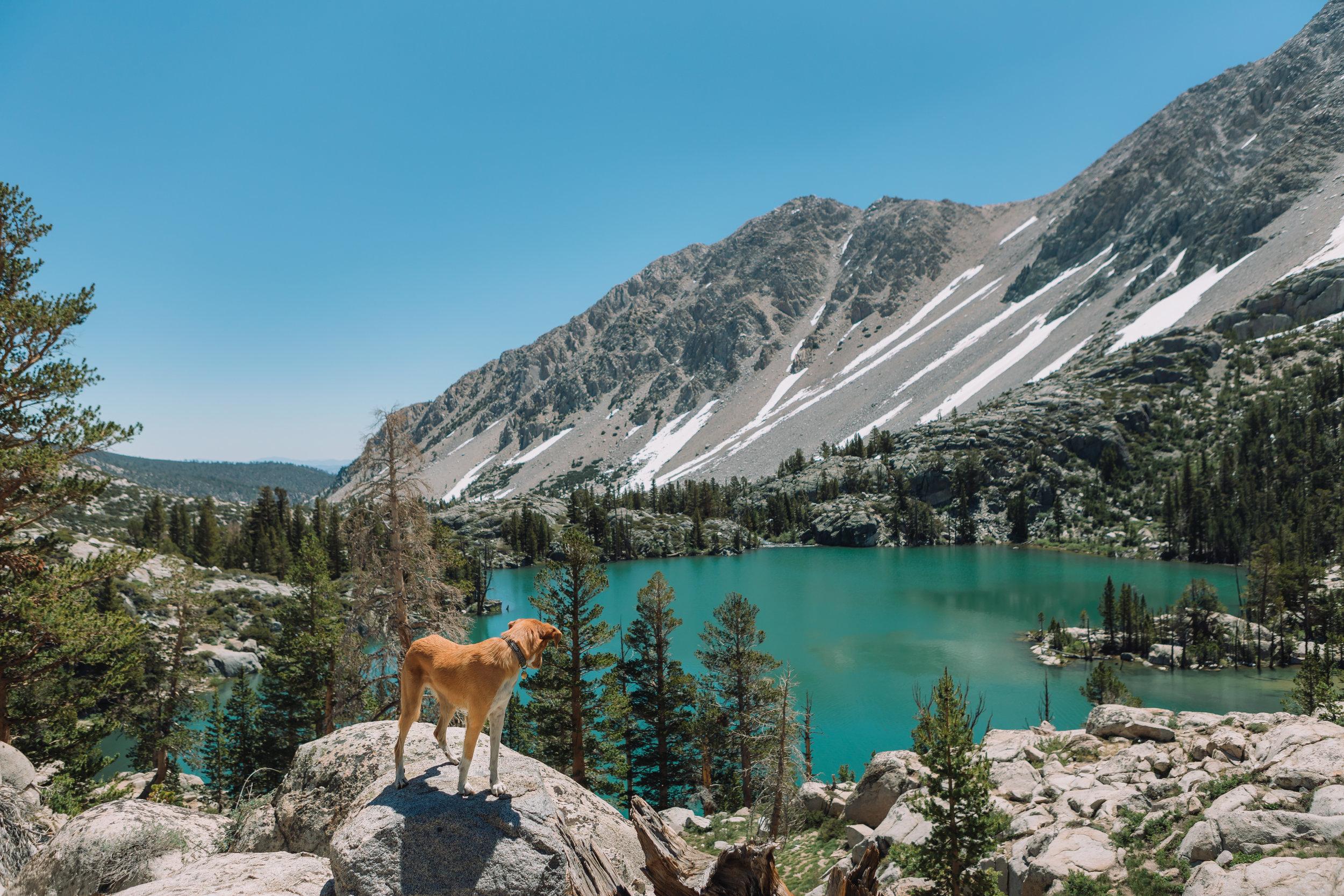 First Lake, John Muir Wilderness, CA | July 2016