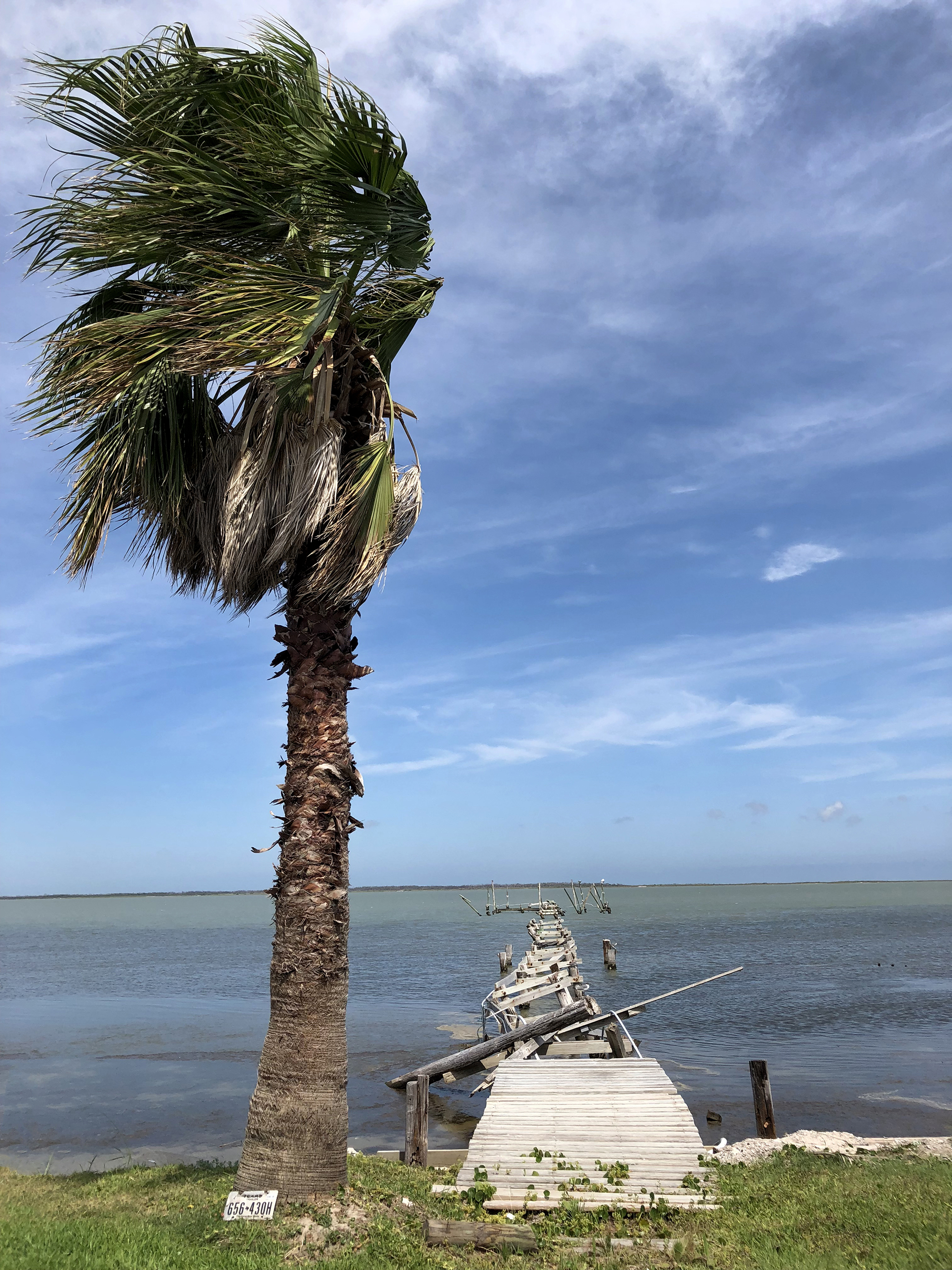 On the way to Padre, I drove thru Rockport, one of the hardest hit areas by Hurricane Harvey almost a year ago. While they have come so far, there was sadly still a lot of rebuilding to do. | Rockport Texas | June 2018
