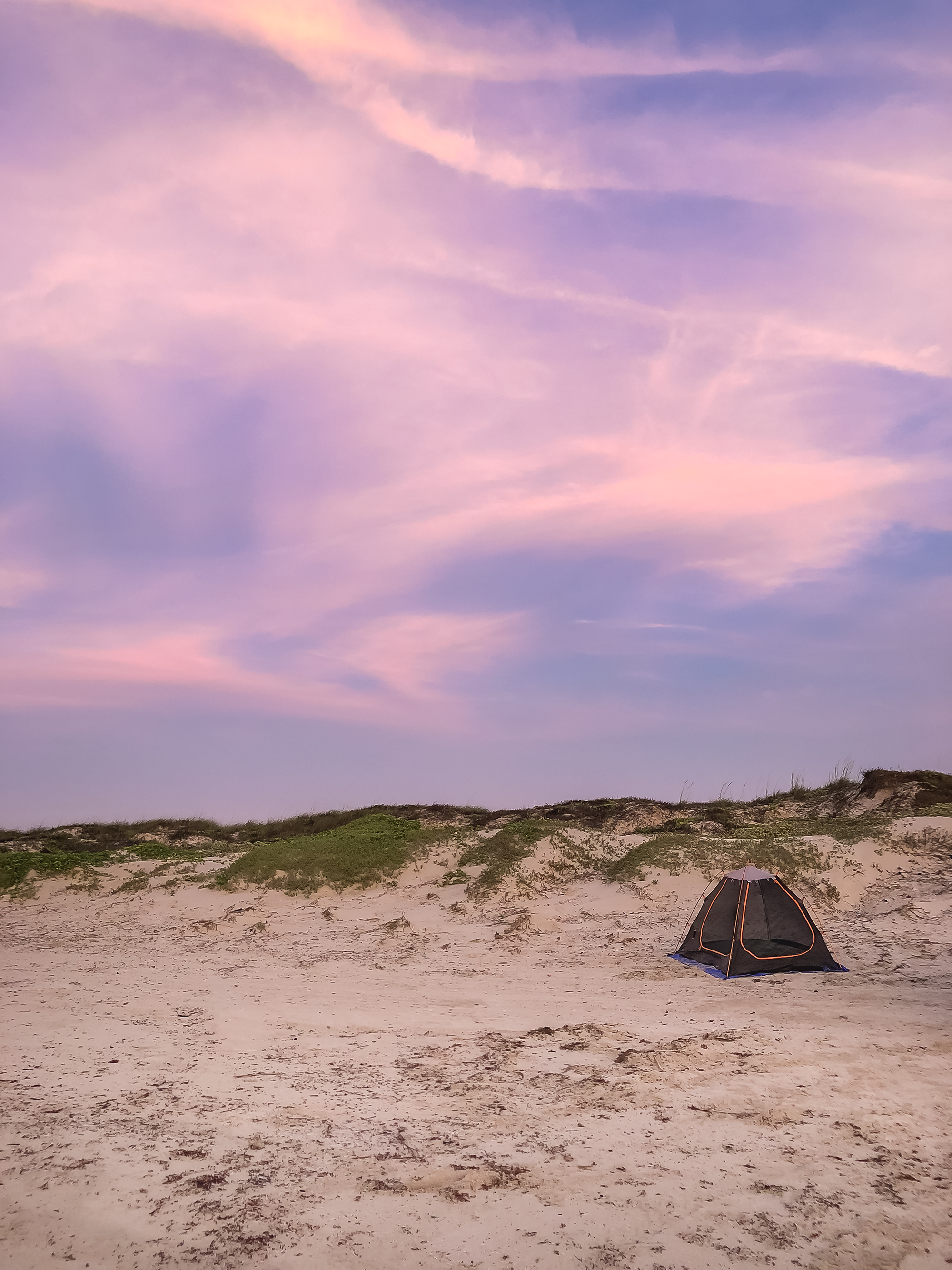 My little campsite. | Padre Island National Seashore, Texas | June 2018