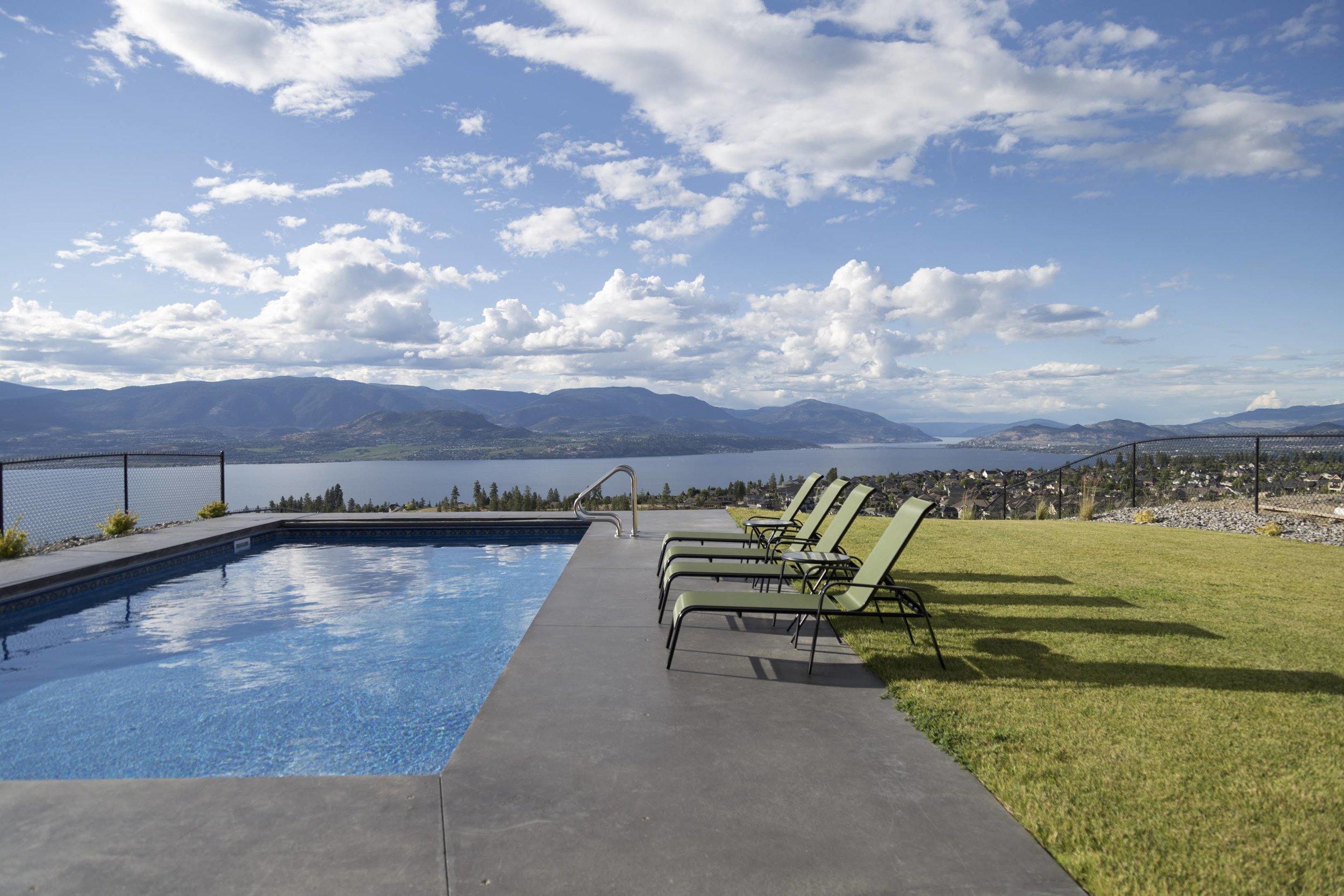 Stunning Lake Okanagan views