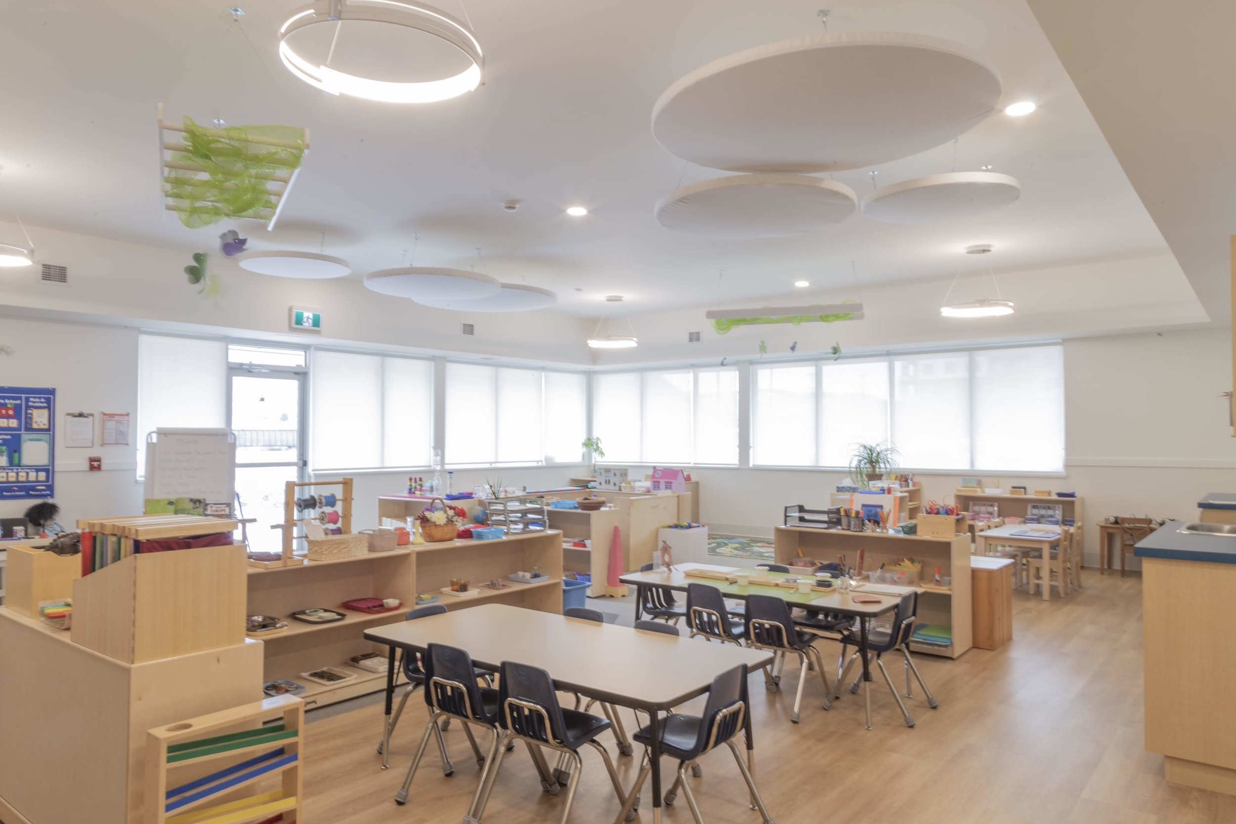 Photo of classroom interior