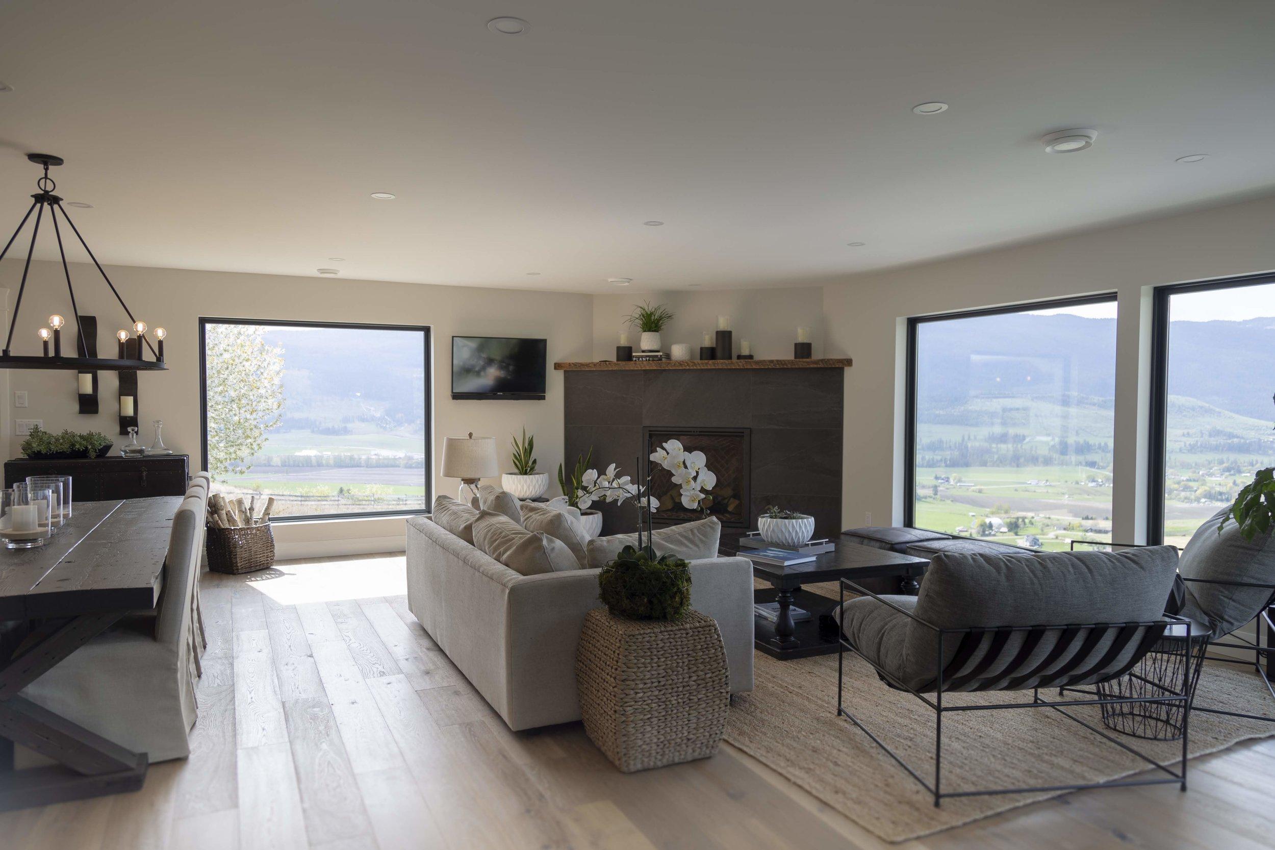 Modern Farm House - Living room