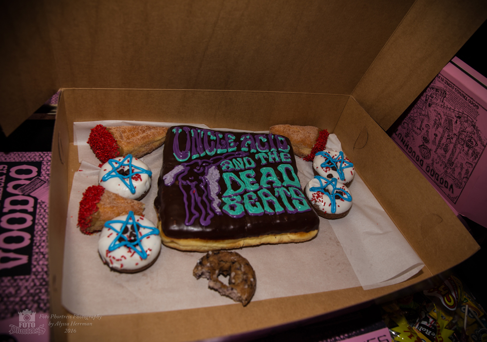 Voodoo Doughnuts for Uncle Acid