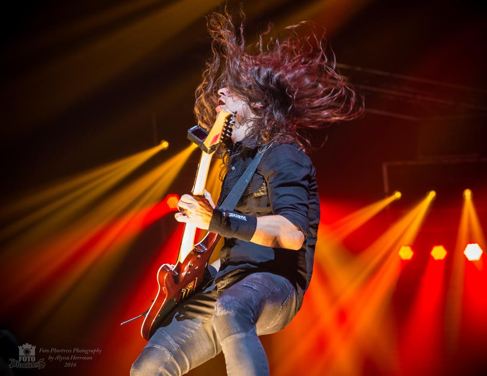 Kiko Loureiro // Megadeth // Eugene, OR
