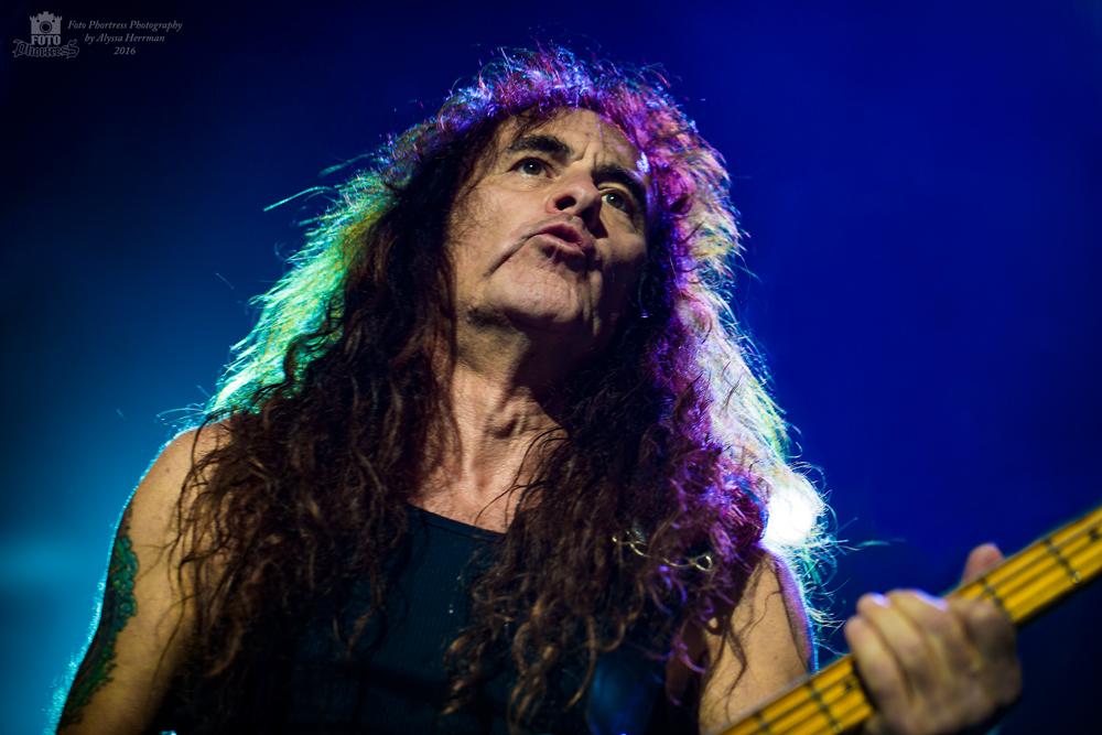 Steve Harris // Iron Maiden // Tacoma, WA