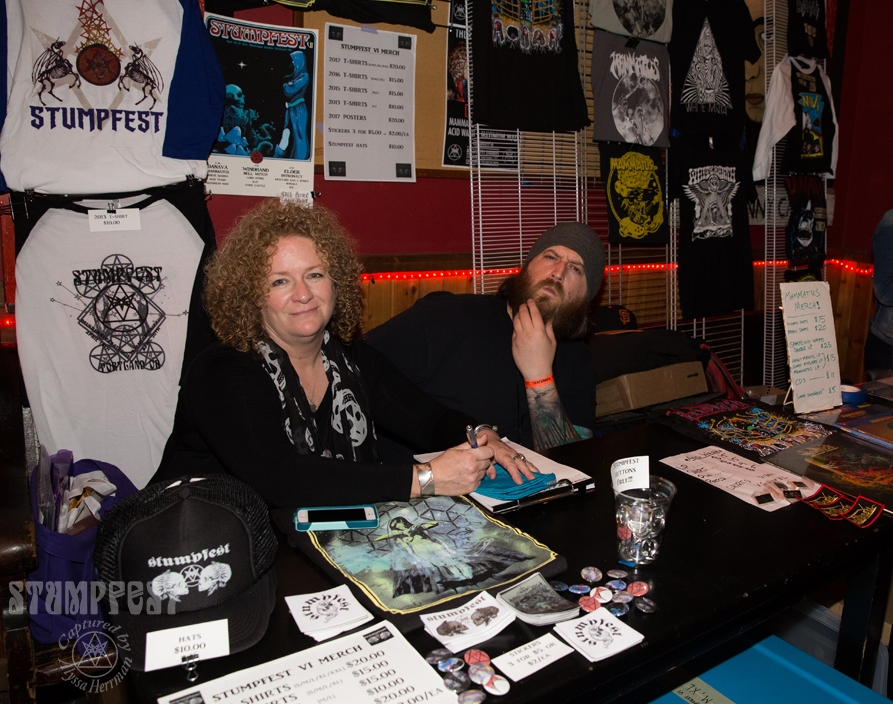 Wendy and Trent, part of our extraordinary merch crew!