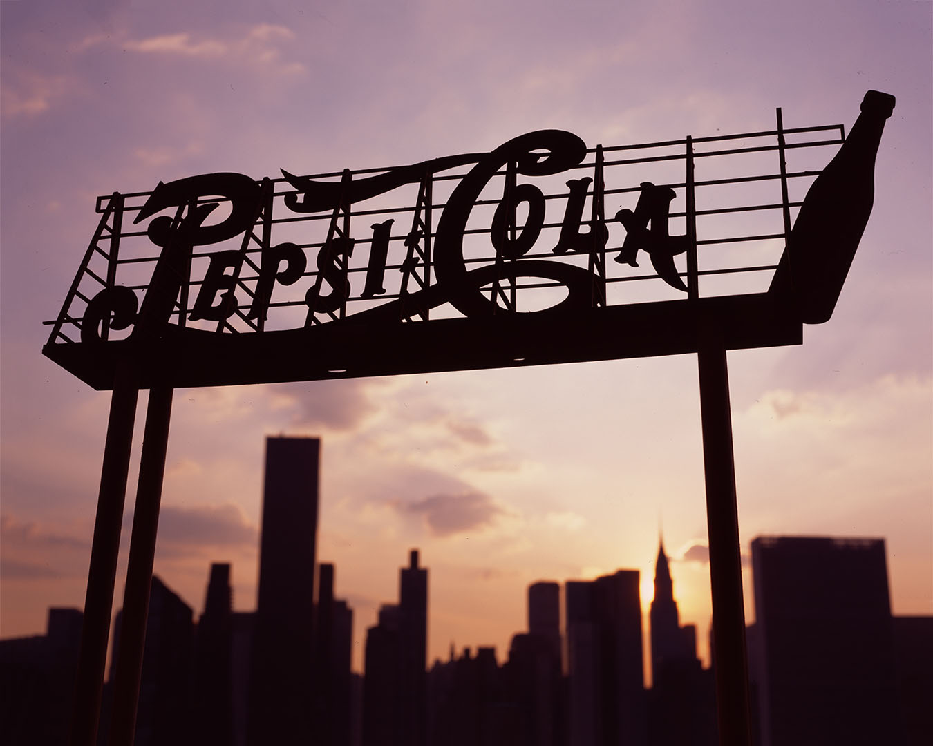 """""""Pepsy Cola Sign (miniature)"""" , 2015 Archival pigment print, 16""""x20""""  Courtesy Yoav Friedlander & Carrie Able Gallery"""