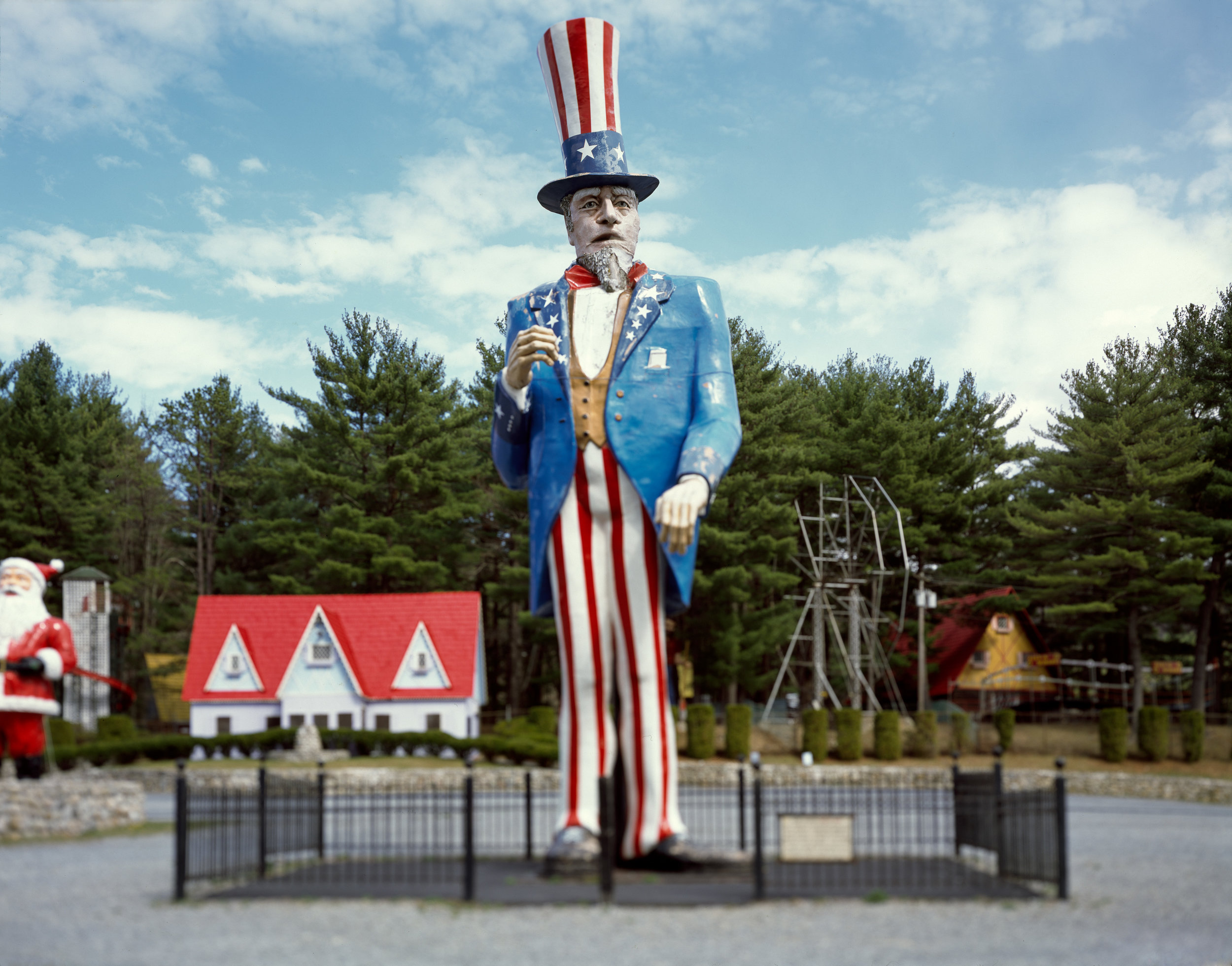 """""""Uncle Sam"""" , 2012 Archival pigment print, 16""""x20""""  Courtesy Yoav Friedlander & Carrie Able Gallery"""