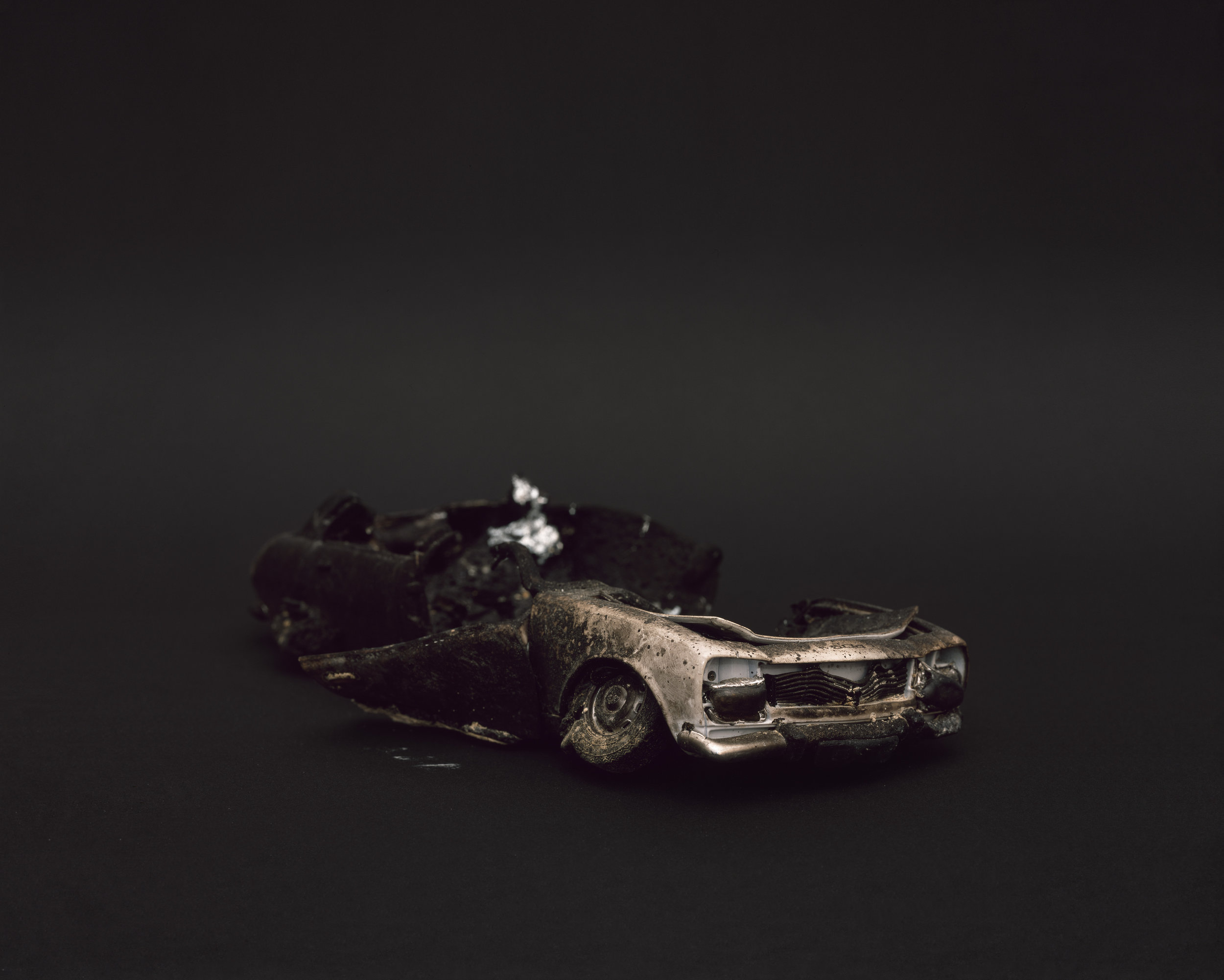 """""""The Aftermath (miniature)"""" , 2013 Archival pigment print, 16""""x20""""  Courtesy Yoav Friedlander & Carrie Able Gallery"""