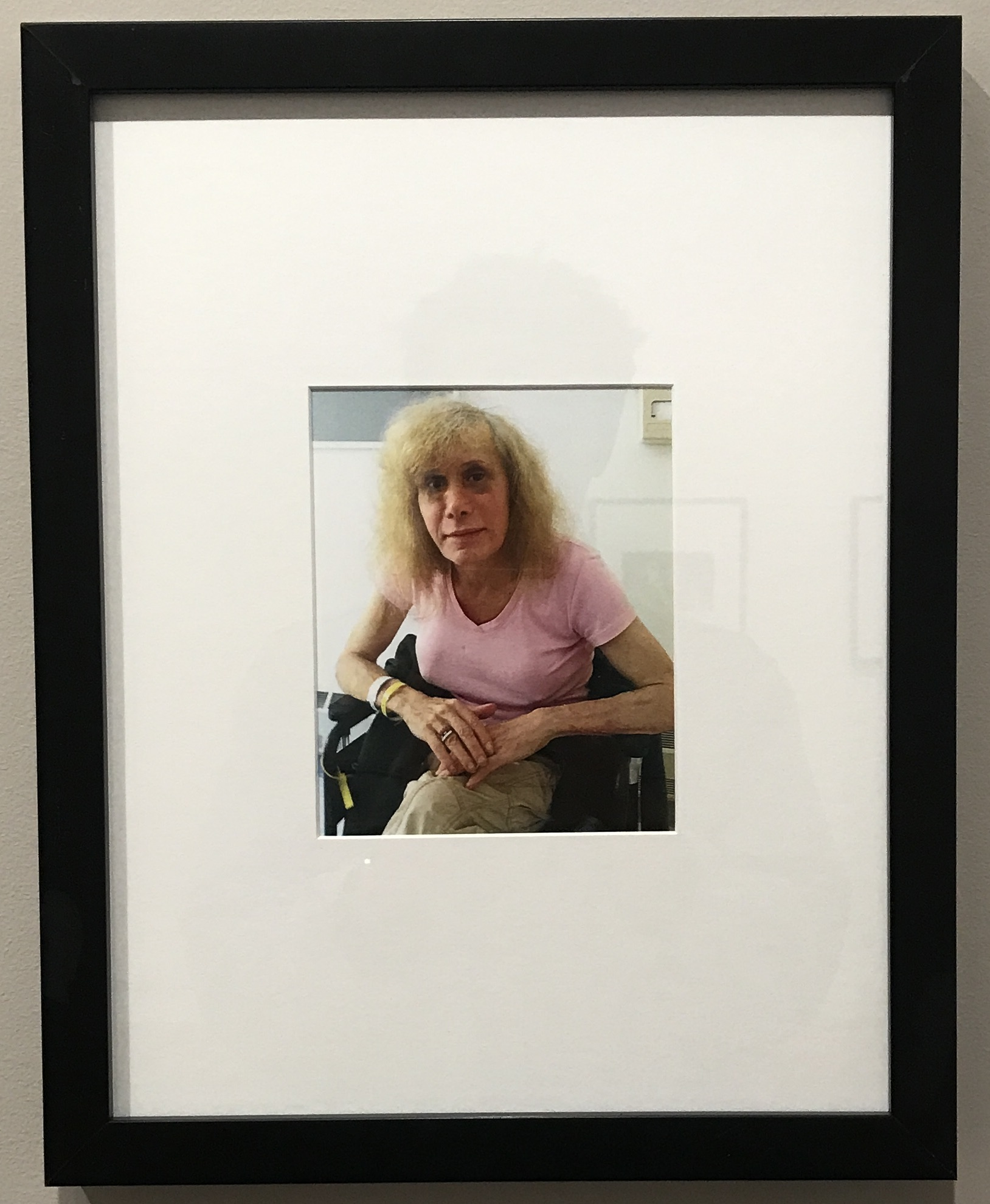 """Donna Gottschalk, """"Myla in rehab at Rivington House four months before she died"""", 2012. (Image by author)"""