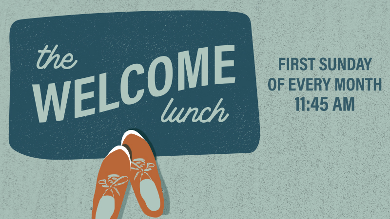 - If you are new or newer to Providence, we joyfully invite you to the Welcome Lunch. Our Welcome Lunch takes place once a month, directly after the Sunday service. This is the best place to start your journey at Providence. You can meet our leaders, get connected with our heartbeat, and begin steps for finding your people and place in the family. We provide childcare, really good food and great company.