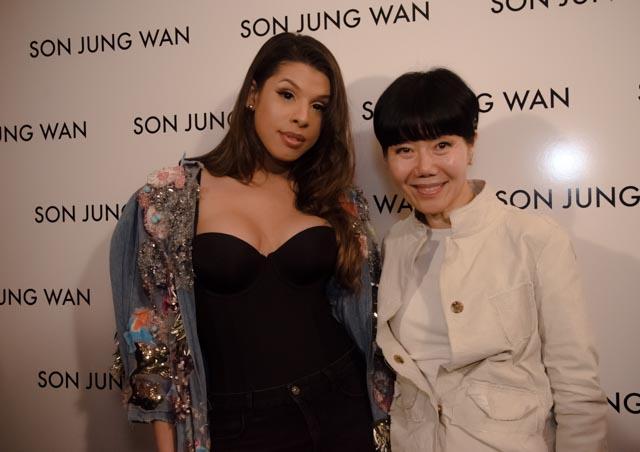 Hailie Sahar & Son Jung Wan