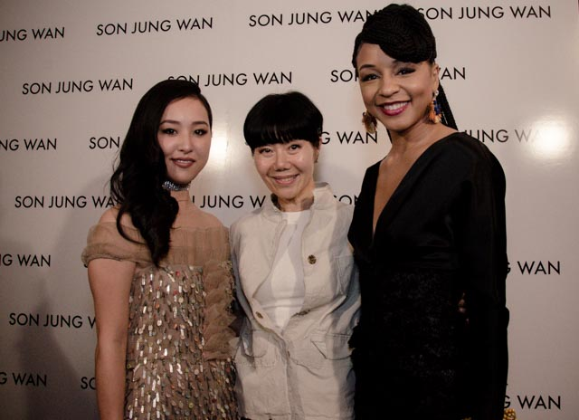 Lyrica Okano, Carra Patterson & Son Jung Wan
