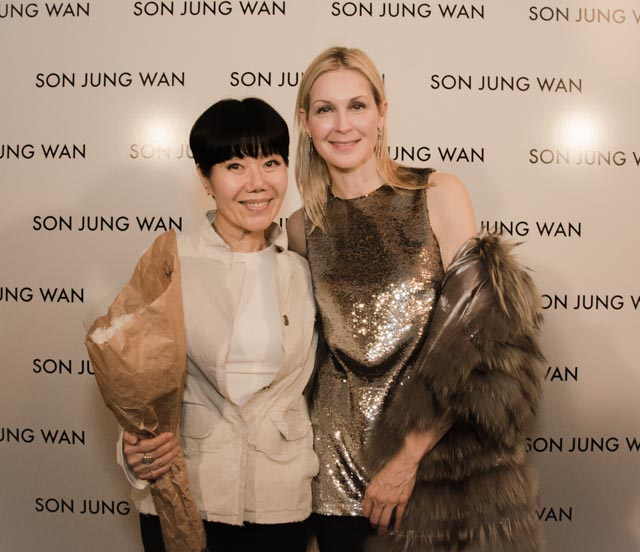 Son Jung Wan & Kelly Rutherford