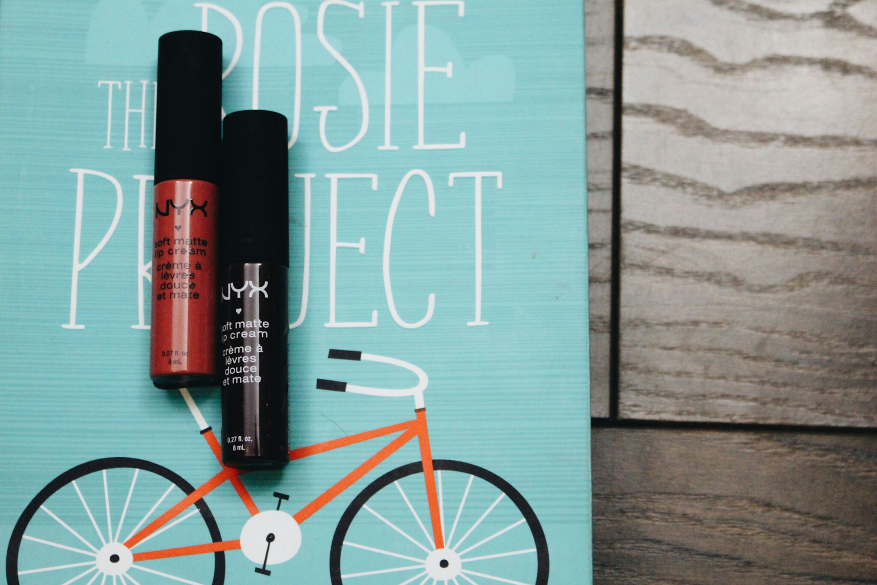 The Rosie Project and NYX Lipstick