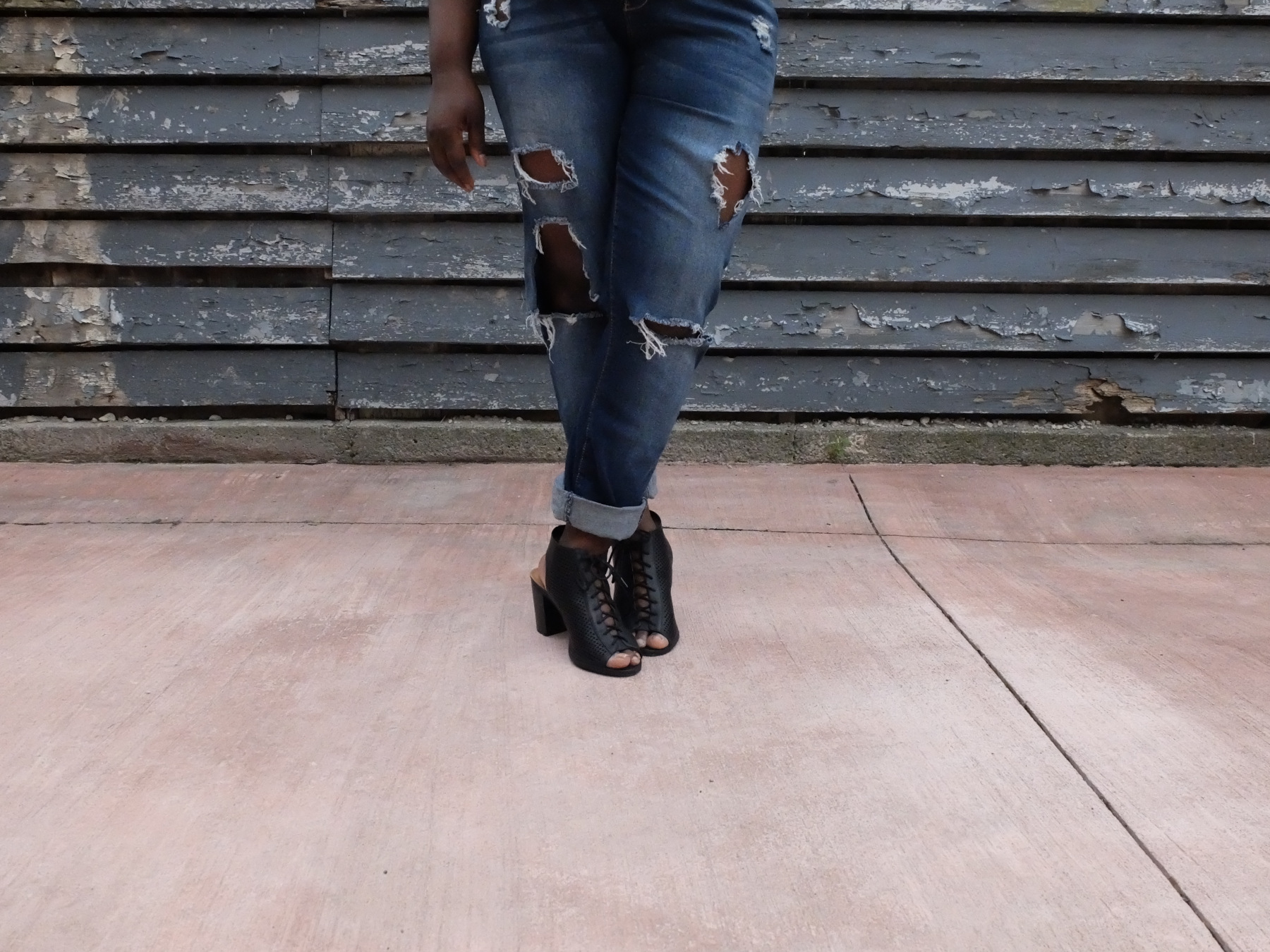 Summer Jeans and Heels