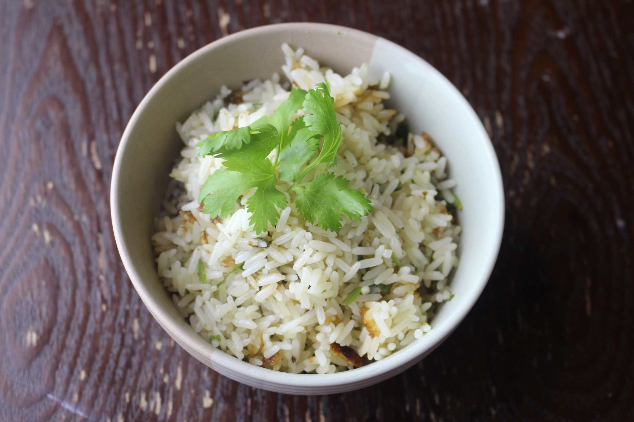 Fresh Cilantro Rice Recipe
