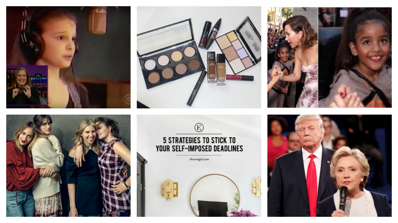 Photo #1 The Late Late Show With James Corden ,  Photo #2 Bev's Eye View ,  Photo #3 Buzzfeed ,  Photo #4 Vogue ,  Photo #5 Every Girl ,  Photo #6, Buzzfeed