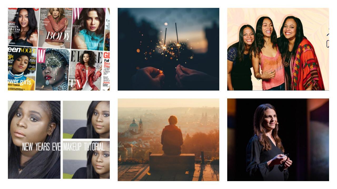 Photo#1: Fashionista ,  Photo #2, #4, #5: Bev's Eye View ,  Photo #3: Cinestar ,  Photo #6: Ted Talk
