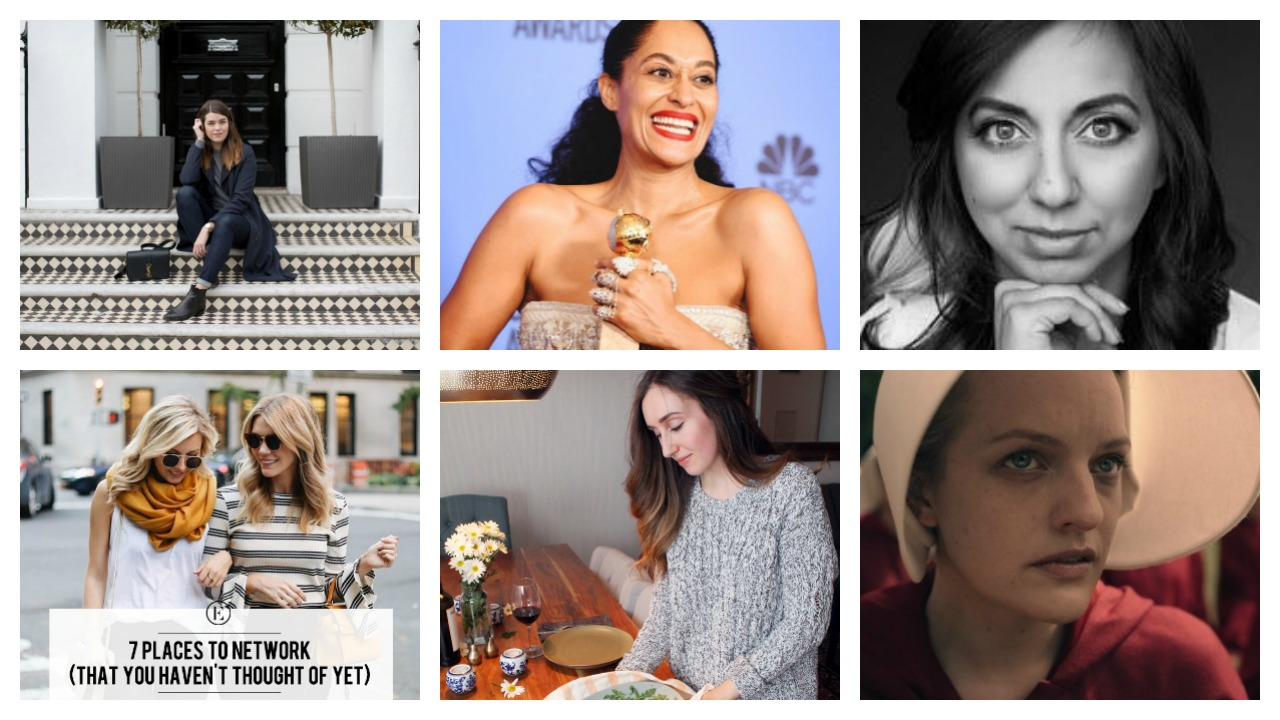 Photo #1: The Anna Edit,   Photo #2 & #4: The Every Day Girl ,  Photo #3: Ted Talk,   Photo #5 Bev's Eye View,   Photo #6 Hulu