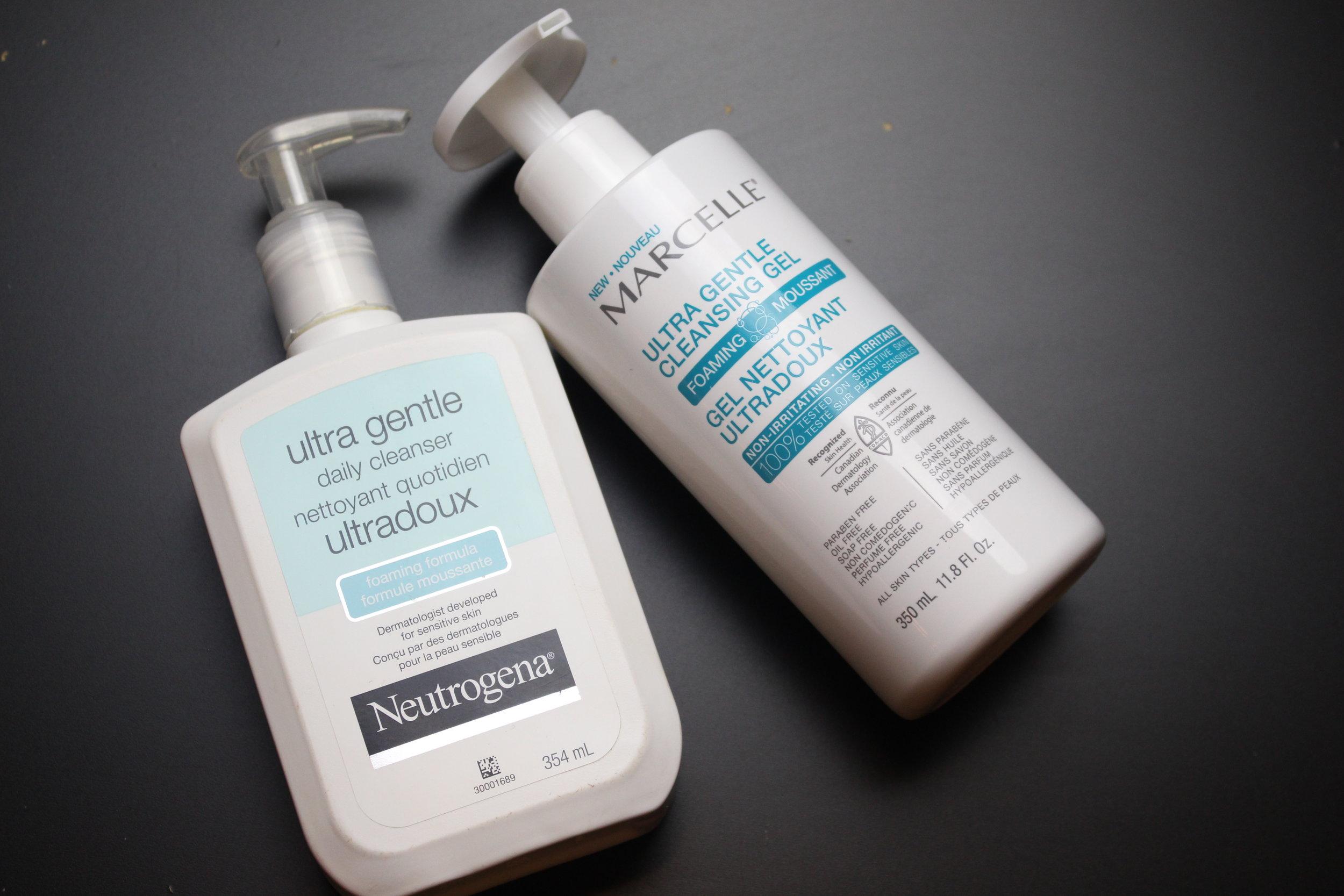 neutrogena gentle cleanser