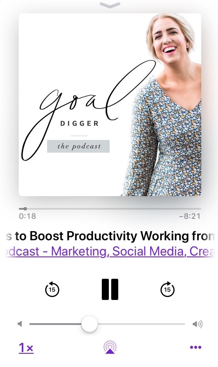 goal digger podcast