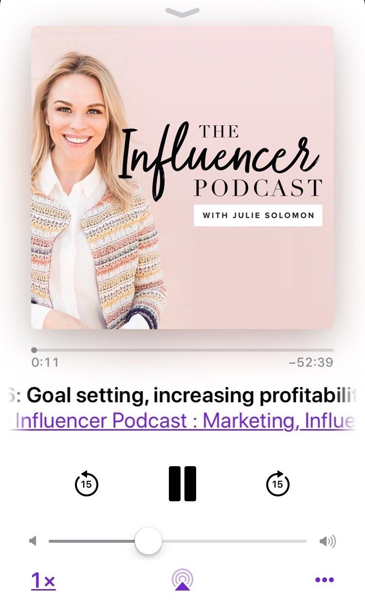 influencer podcast