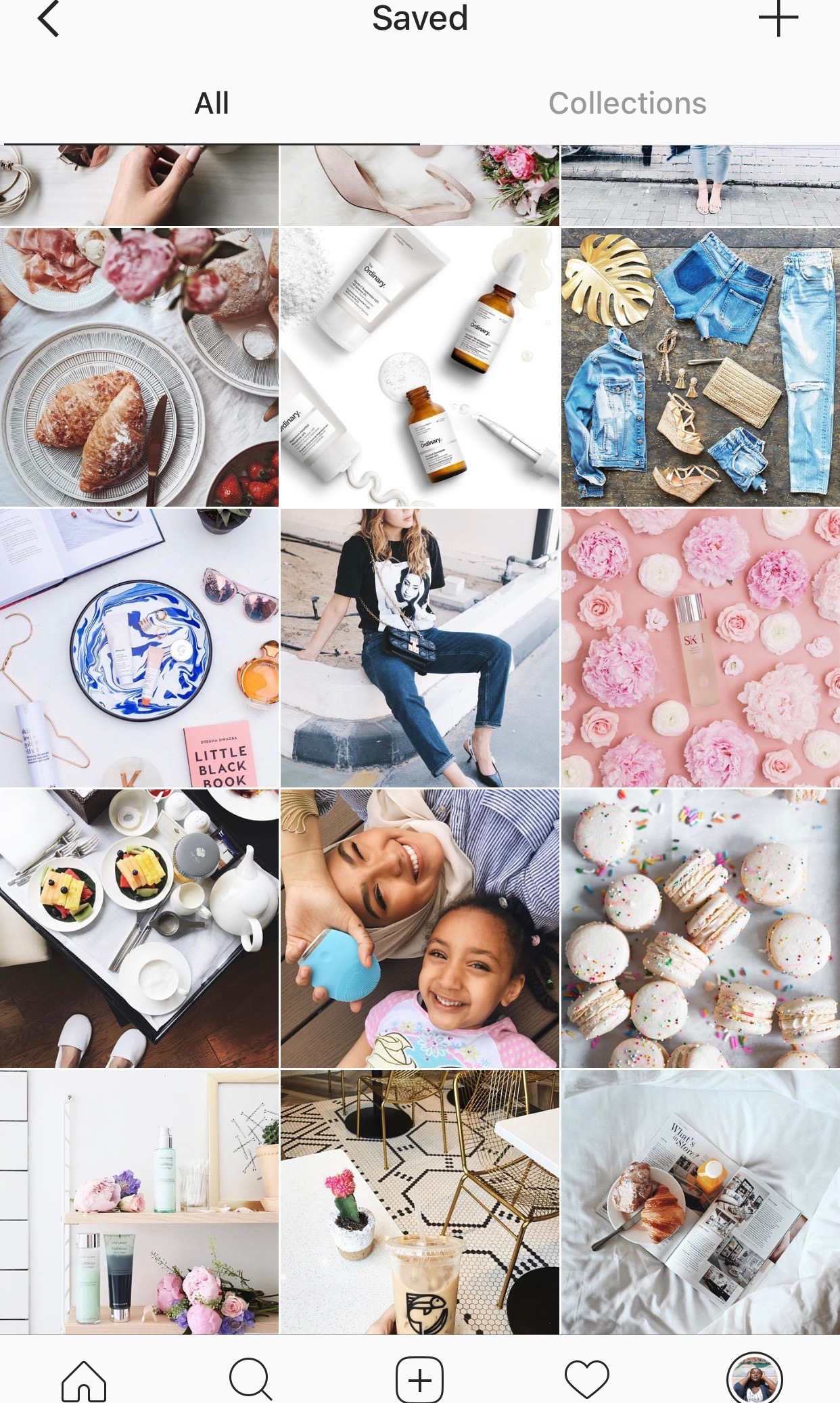 how to use instagram collections