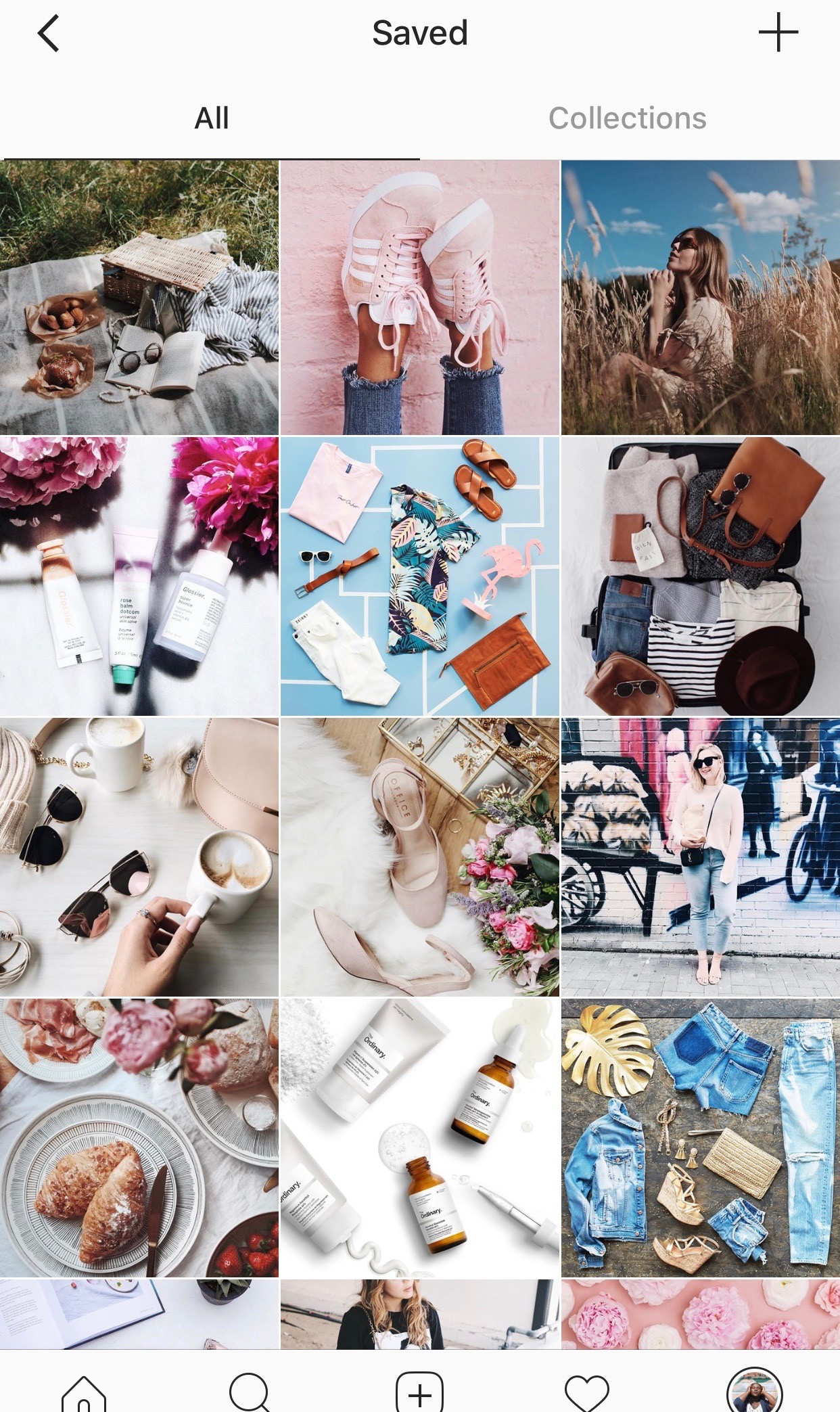 How to bloggers use instagram collections
