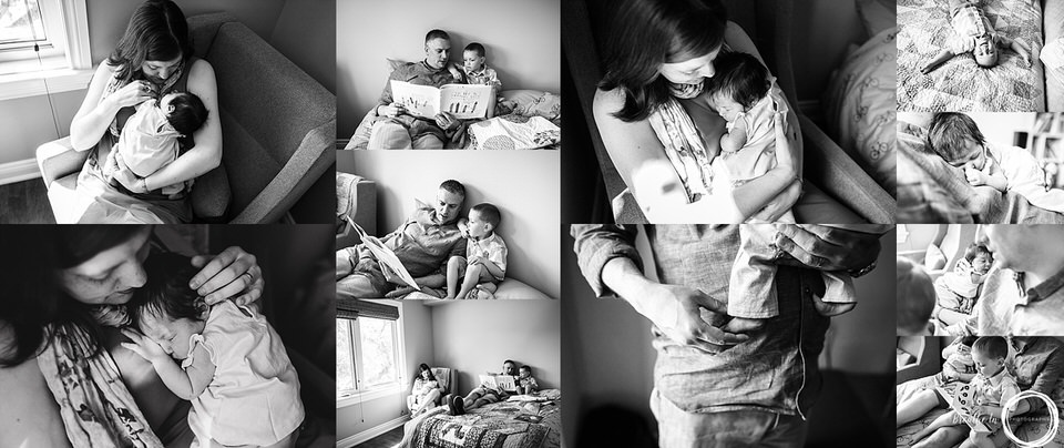 Newborn family lifestyle photography captures all the big details and the small ones.