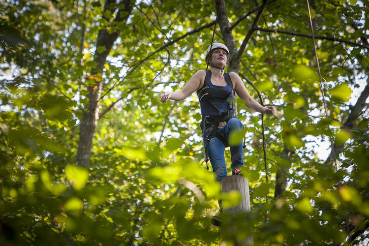 Leading Custom Ropes Course Adventures To Grow Leaders