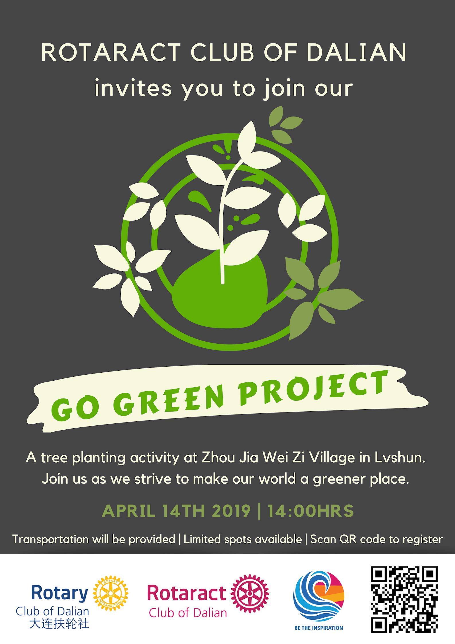 Go Green 2019 Rotary Dalian