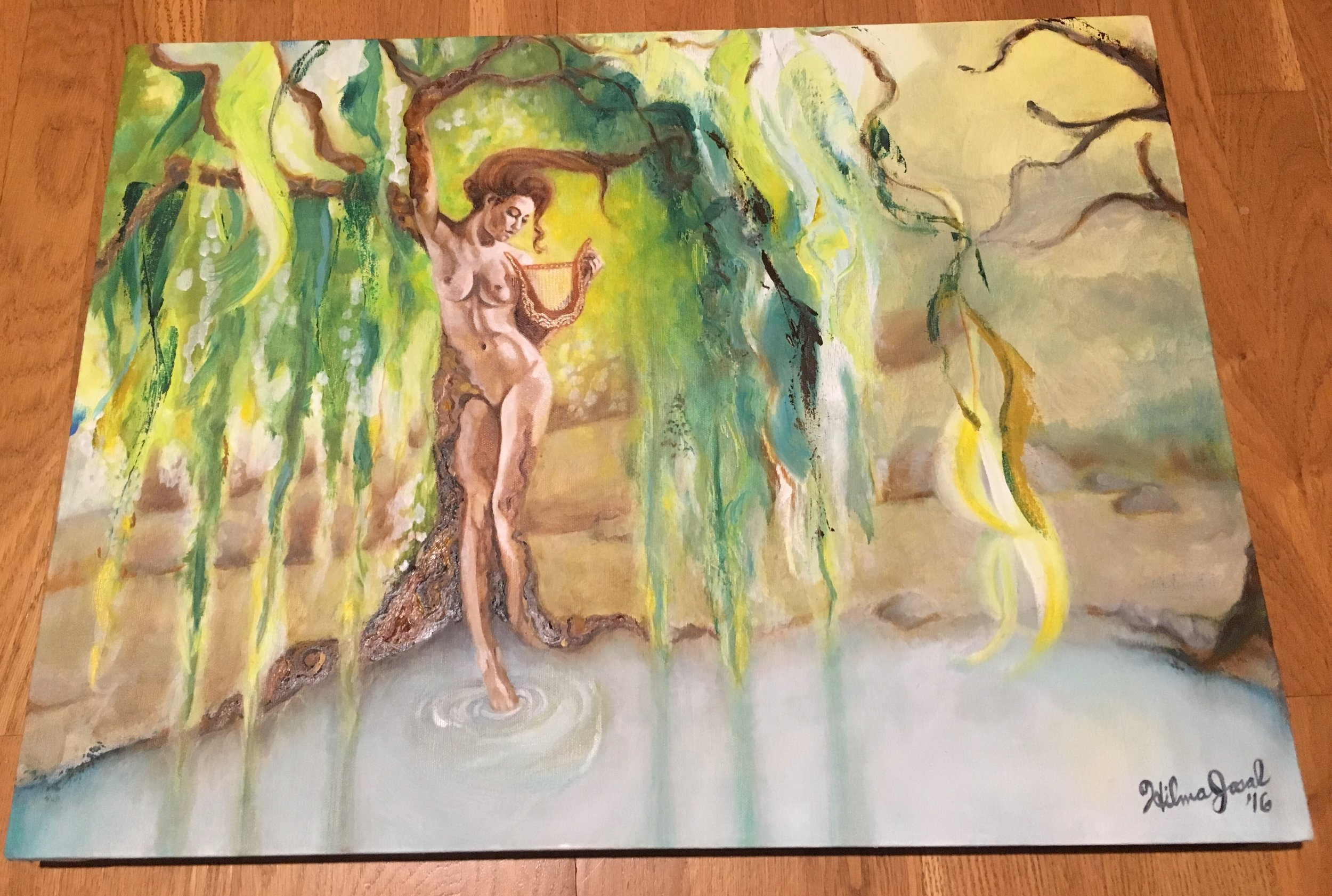 Weeping Willow Lady