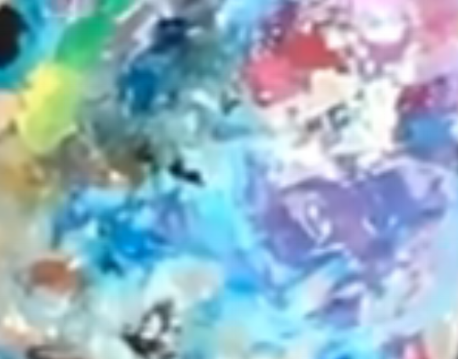 This resized tiny picture is a cropped movie picture of my palette. I just like the colors woo color.