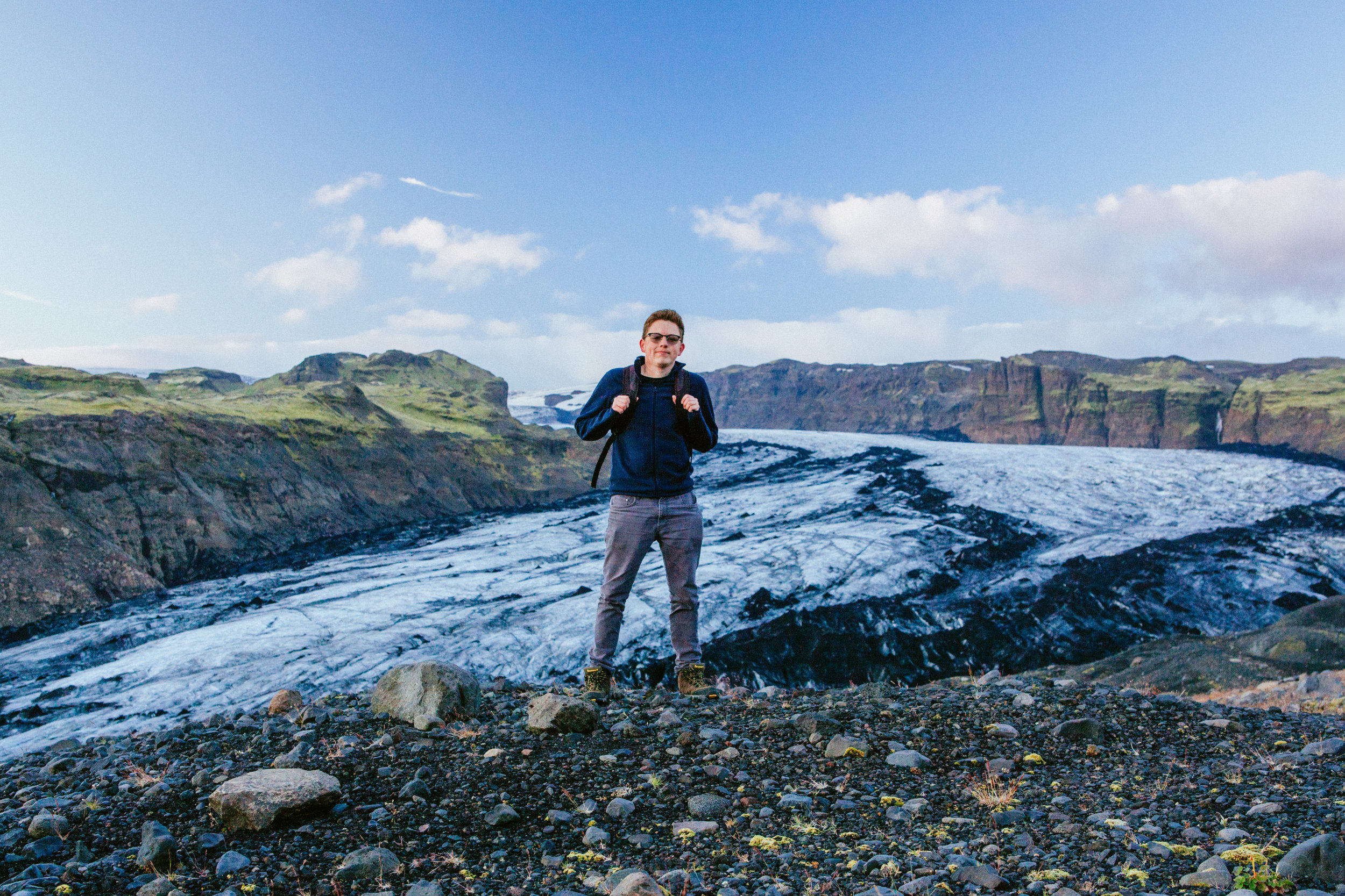 Selfportrait in Iceland...