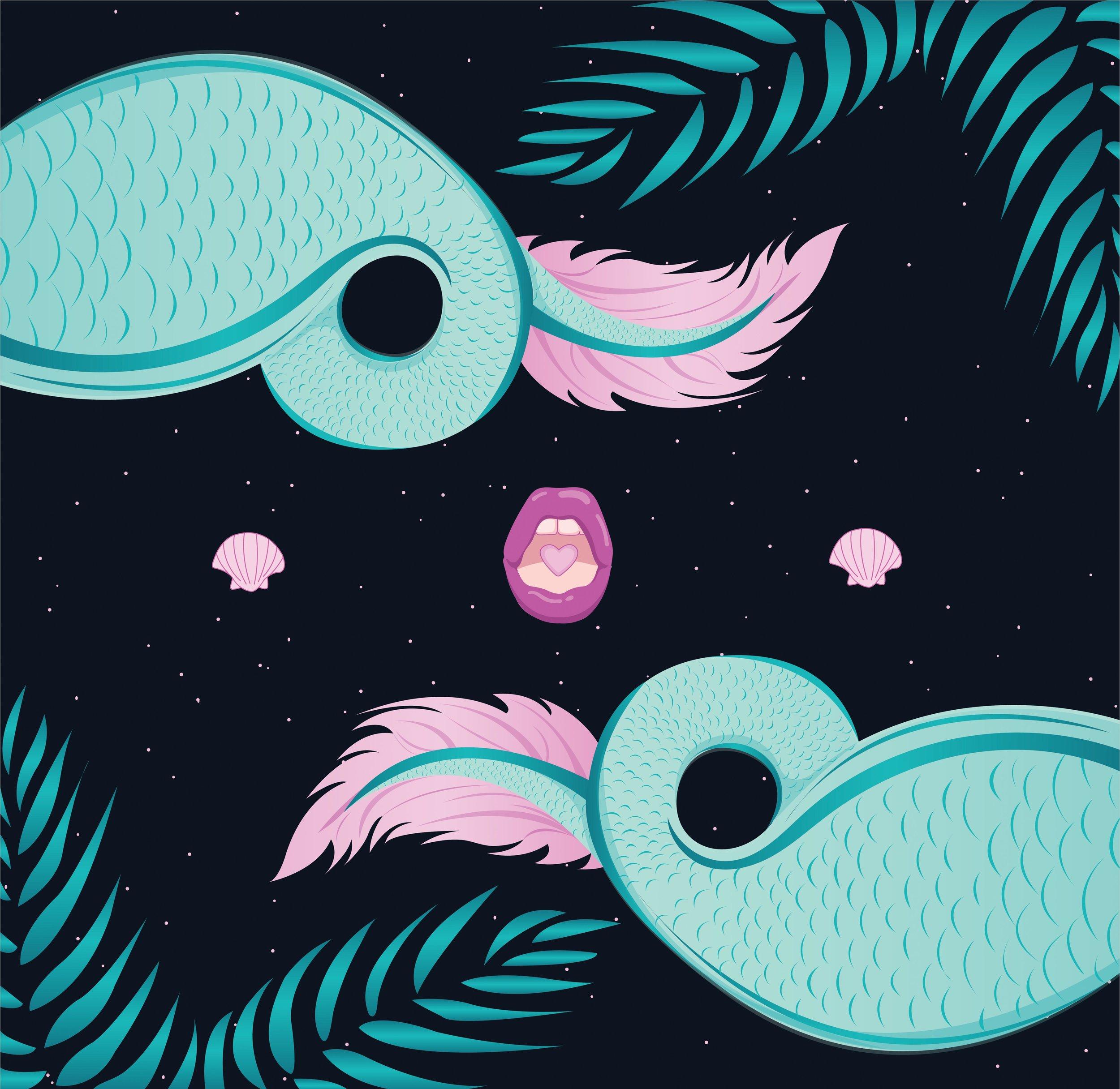 Psychedelic Mermaid Part 2