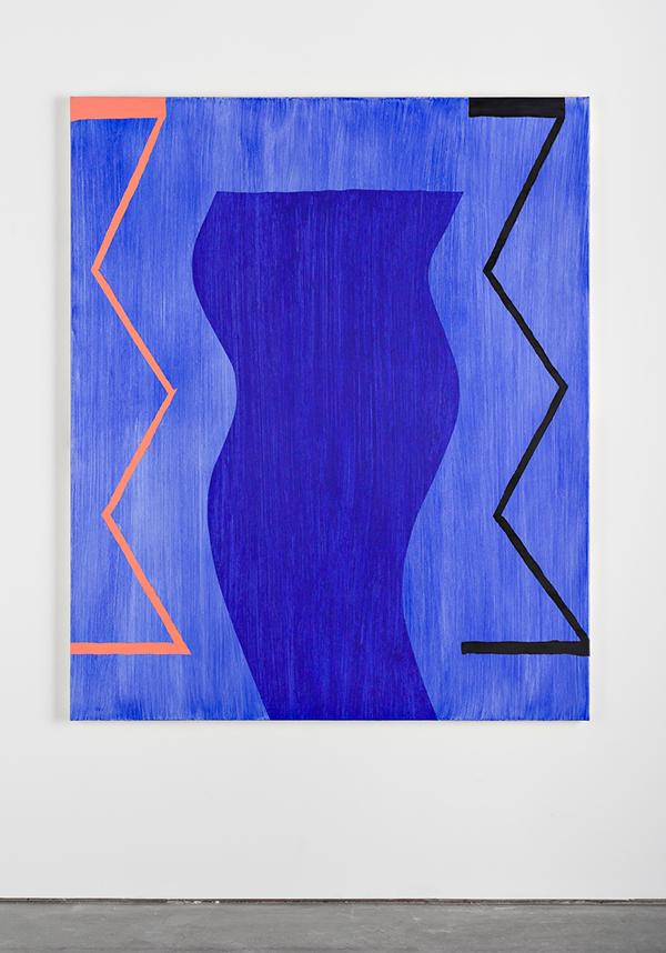 "The Cut , 2018. 72"" x 60"" oil on canvas"