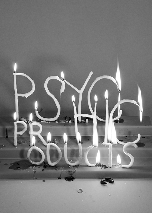 Psychic Products , 2018. Candle Poems. Limited Edition Digital print.