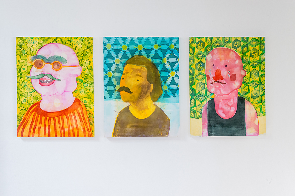 Orkideh Torabi Portraits.  Can't deny it , Orkideh Torabi and Stacey Beach, Installation View.