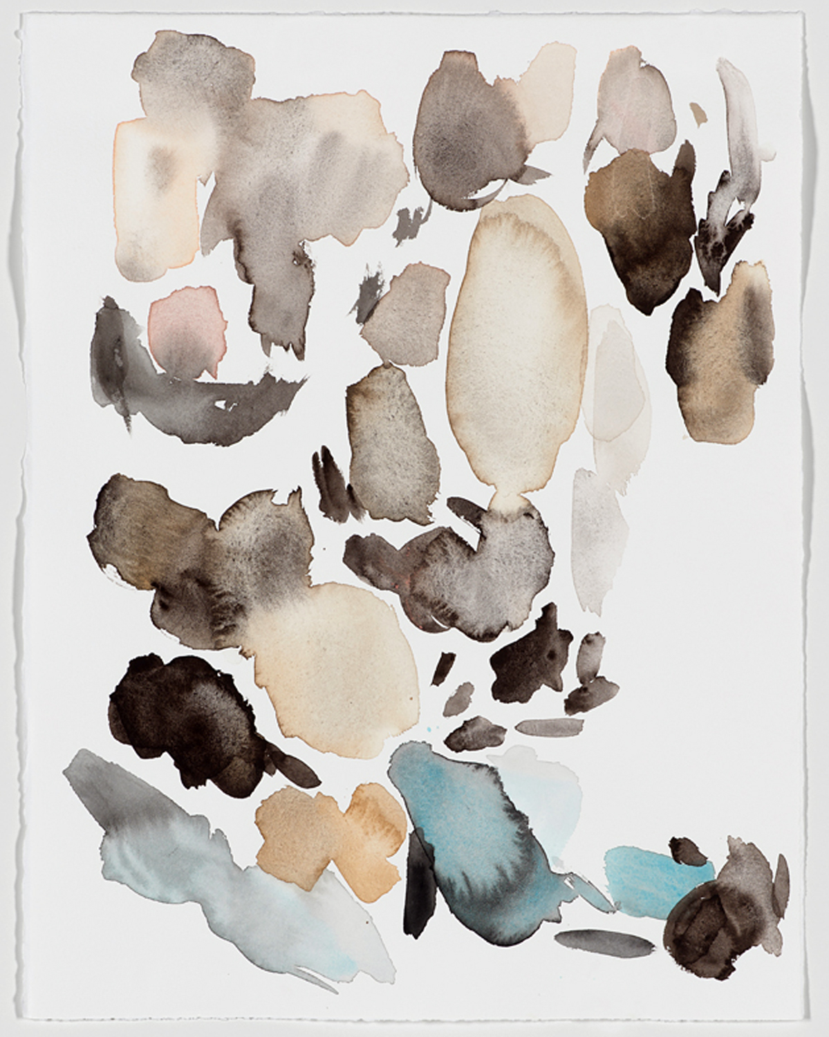 Kelly Inouye, Krystle Carrington, 2015.  Watercolor on Paper. 13 x 16 inches.  Framed in white.
