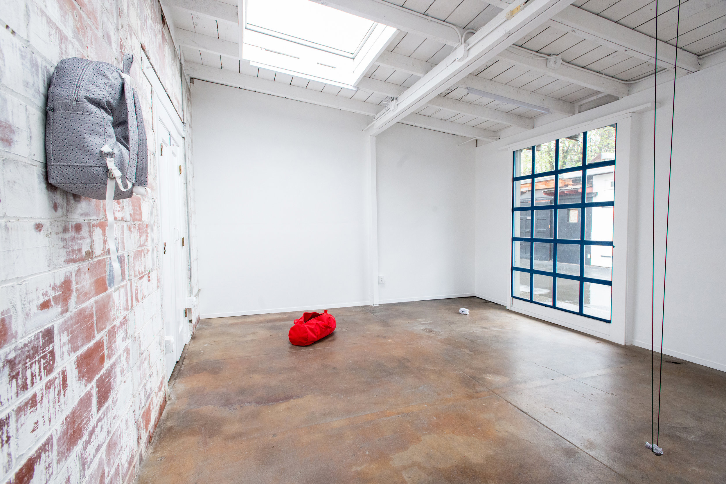 Lauren McKeon,  let go or be dragged , exhibition view,