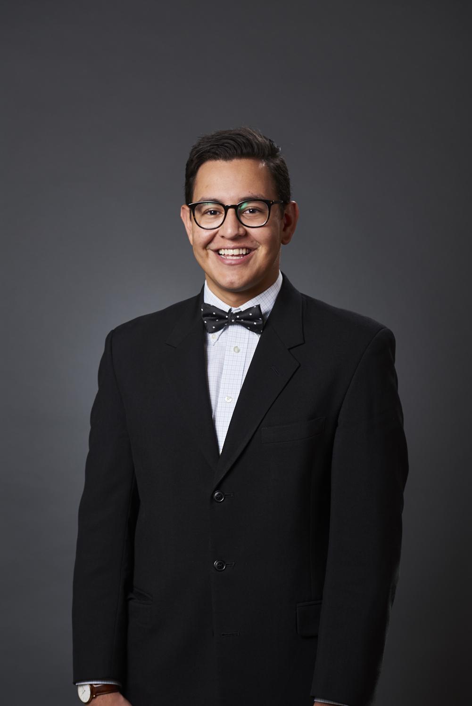 Gabe Moreno, Impact Fellow at the Sorenson Impact Center.