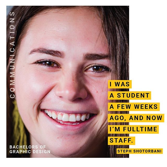 """Graphic design is a way to communicate the good that the world is doing right now. Sorenson has given me the opportunity to work full-time and also work on my dreams. The passion that students and staff have here helps me grow to be my best passionate self."" – Steph Shortorbani . . . Steph worked as a communications fellow and recently graduated from the University of Utah with a BA in Graphic Design. Upon graduation, she was hired on as a full-time Senior Graphic Designer. #StudentSpotlights #SorensonFellows"