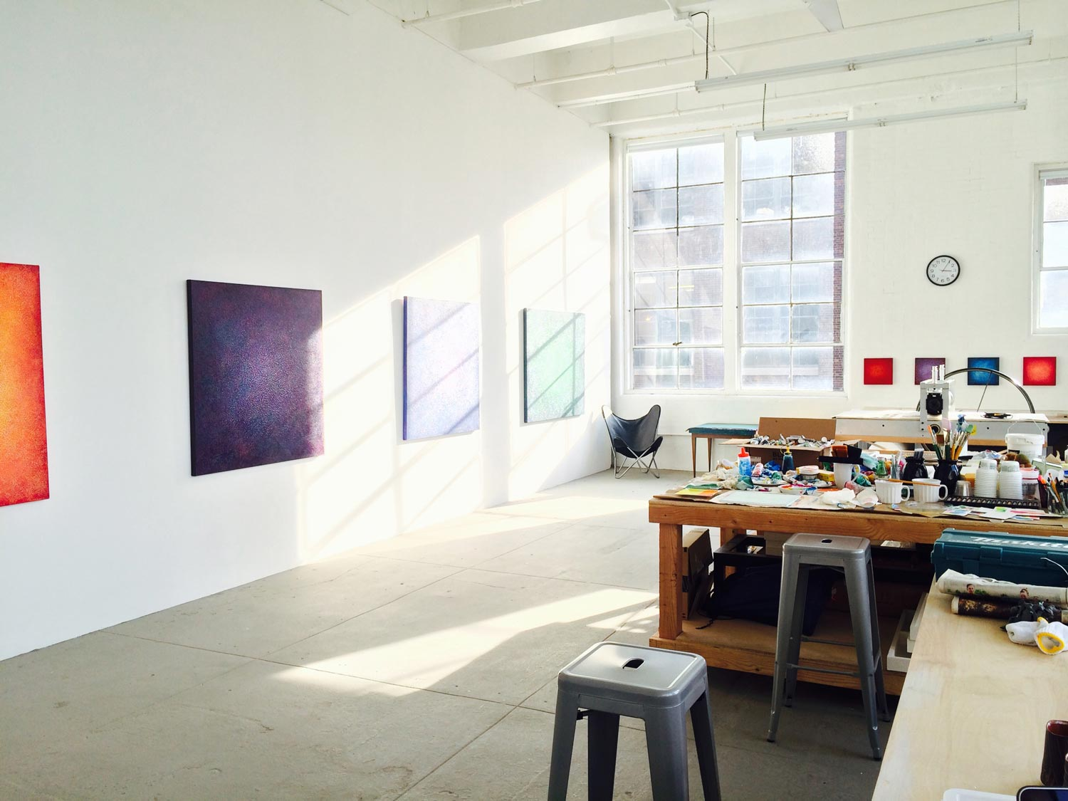 Studio View   - Mana Contemporary