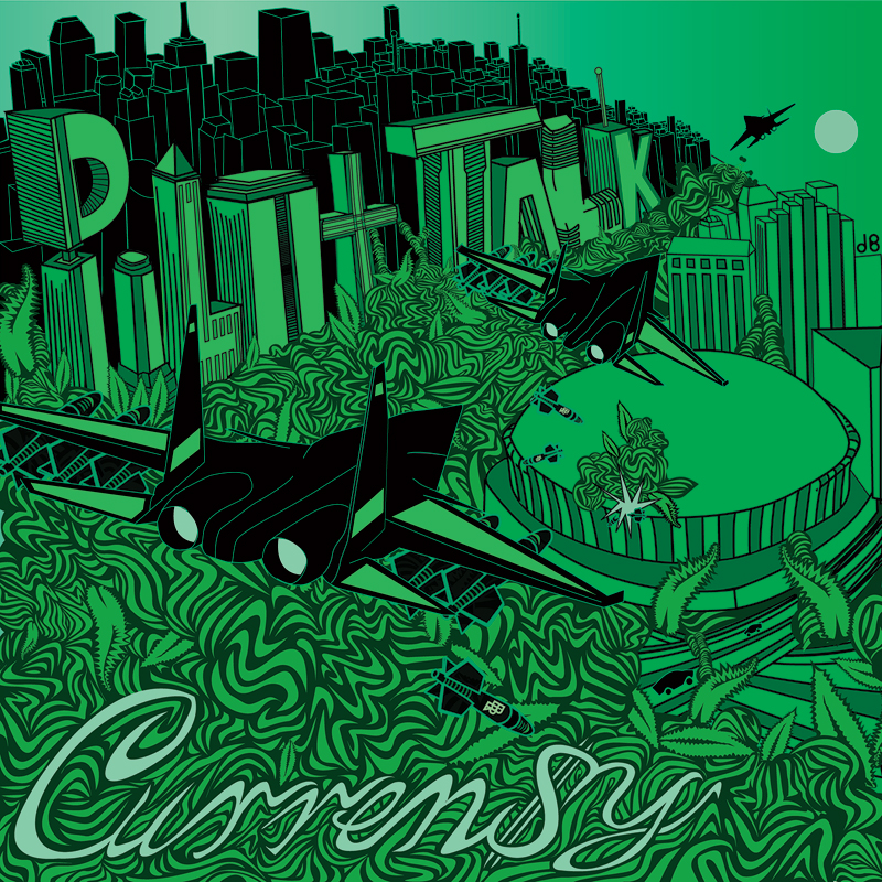 Barnett's  Pilot Talk cover art that served as the launchpad for  Green Sky.
