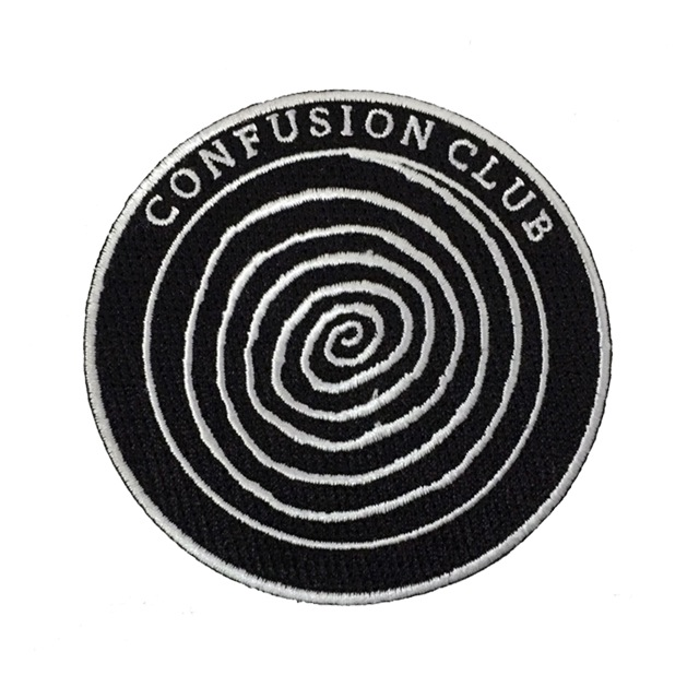 Confusion Club Patch  via Strike Gently Co .